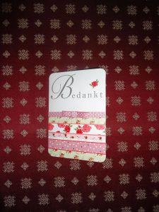 B&B Deurne-Bedankje (2)